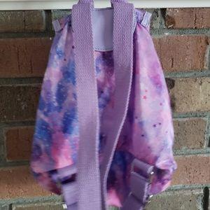 Accessories - Girls Mini Backpack Galaxy Purple